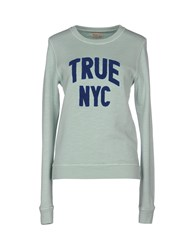 Truenyc. Topwear Sweatshirts Women Light Green