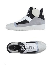 Dirk Bikkembergs Sport Couture Footwear High Tops And Trainers Men Light Grey