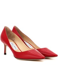 Jimmy Choo Romy 60 Patent Leather Pumps Red