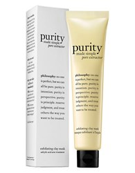 Philosophy Purity Made Simple Pore Extractor Mask 2.5 Oz. No Color