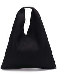 Maison Martin Margiela Mm6 Japanese Hobo Tote Black