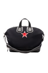 Givenchy Nightingale Top Handle Bag In Black