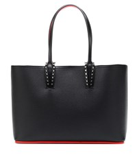 Christian Louboutin Cabata Small Leather Tote Black