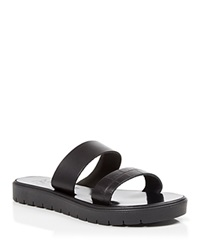 Joie A La Plage Flat Slide Sandals Tulum Two Band Black