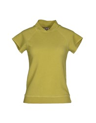 Douuod Topwear Sweatshirts Women Acid Green