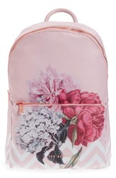 Ted Baker London Palace Gardens Nylon Backpack Pink Dusky Pink