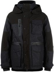 Dsquared2 Technical Ski Padded Jacket Green