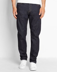 Carhartt Blue Wash Texas Hanford Tapered Fit Jeans