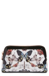 Ted Baker London Butterfly Print Cosmetics Case