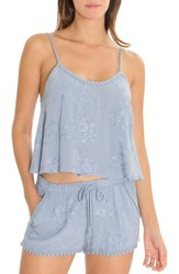 In Bloom By Jonquil Short Pajamas Chambray Blue