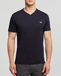 Fred Perry Classic V Neck Tee Navy