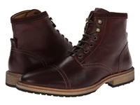 Florsheim Indie Cap Toe Boot Chocolate Smooth Men's Lace Up Boots Brown