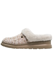 Skechers Cherish Pomp And Circumstance Slippers Natural Beige