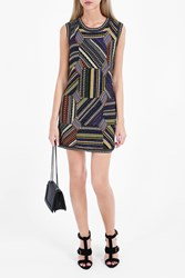 Missoni Women S Patchwork Mini Dress Boutique1 Multi