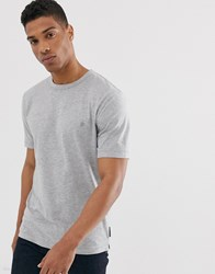 French Connection Organic Cotton Boxy Fit T Shirt In Grey