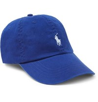 Polo Ralph Lauren Cotton Twill Baseball Cap Blue