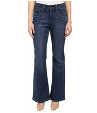 Nydj Petite Petite Farrah Flare In Echo Valley Echo Valley Women's Jeans Blue