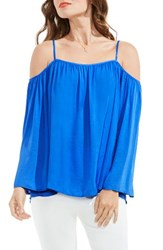 Vince Camuto Women's Off The Shoulder Blouse Deep Sky