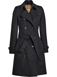 Burberry The Chelsea Heritage Trench Coat Blue