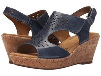 Softspots Rainer Denim Montana Women's Wedge Shoes Navy