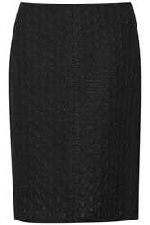 Theory Quinar Embroidered Cotton Blend Skirt