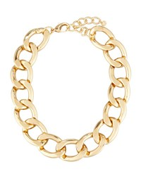 Lydell Nyc Statement Chain Link Necklace Gold