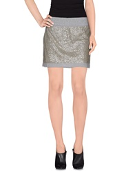 Juicy Couture Mini Skirts Grey