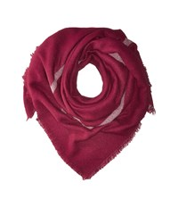 Vince Camuto Boxed Off Wrap Merlot Scarves Red