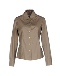 Piero Guidi Shirts Shirts Women Brown