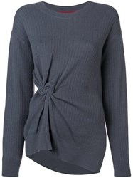 Sies Marjan Cashmere Ribbed Jersey Grey
