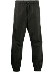 Marcelo Burlon County Of Milan County Tape Slouchy Track Pants 60
