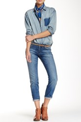 Rich And Skinny Boy Girl Cut Jean Blue