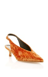Tibi Lia Slingback Orange