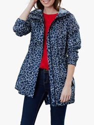 Joules Golightly Packaway Coat Navy