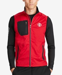 Polo Ralph Lauren Sport Men's Softshell Vest Old Glory Red