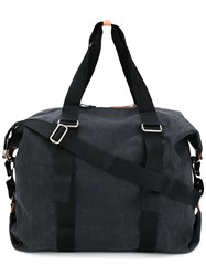 Qwstion Classic Holdall Unisex Cotton Nylon One Size Grey