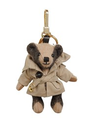 Burberry Thomas Bear Trench Coat Key Chain Antique Yellow