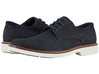 Dockers Parkway 360 Plain Toe Oxford Dark Blue Denim Shoes