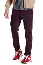 Slate And Stone Slim Fit Stretch Pant 32 34 Inseam Red