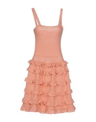 Red Valentino Redvalentino Dresses Knee Length Dresses Women Salmon Pink