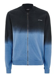 Antioch Multi Blue And Black Bomber Jacket