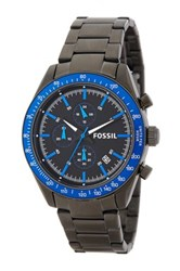 Fossil Men's Quartz Chronograph Bracelet Watch Gray