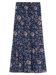 Gerard Darel Jina Skirt Blue