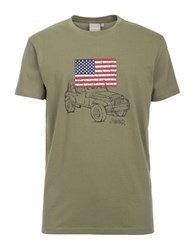 Jeep Graphic Tee Green