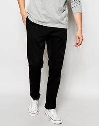 United Colors Of Benetton Slim Fit Chinos Black100