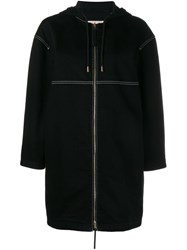 Marni Hooded Raincoat Black