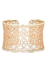 Kendra Scott Women's 'Mystic Bazaar Candice' Wide Cuff Rose Gold Gold
