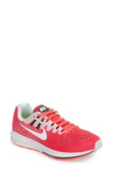 Nike Women's Air Zoom Structure 20 Running Shoe Racer Pink White Platinum