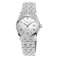 Frederique Constant Fc 303Mpwn1b6b Women's Automatic Mother Of Pearl Stainless Steel Bracelet Watch Silver