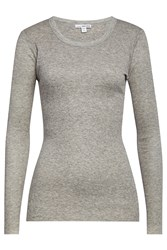 James Perse Cotton Top With Wool Grey